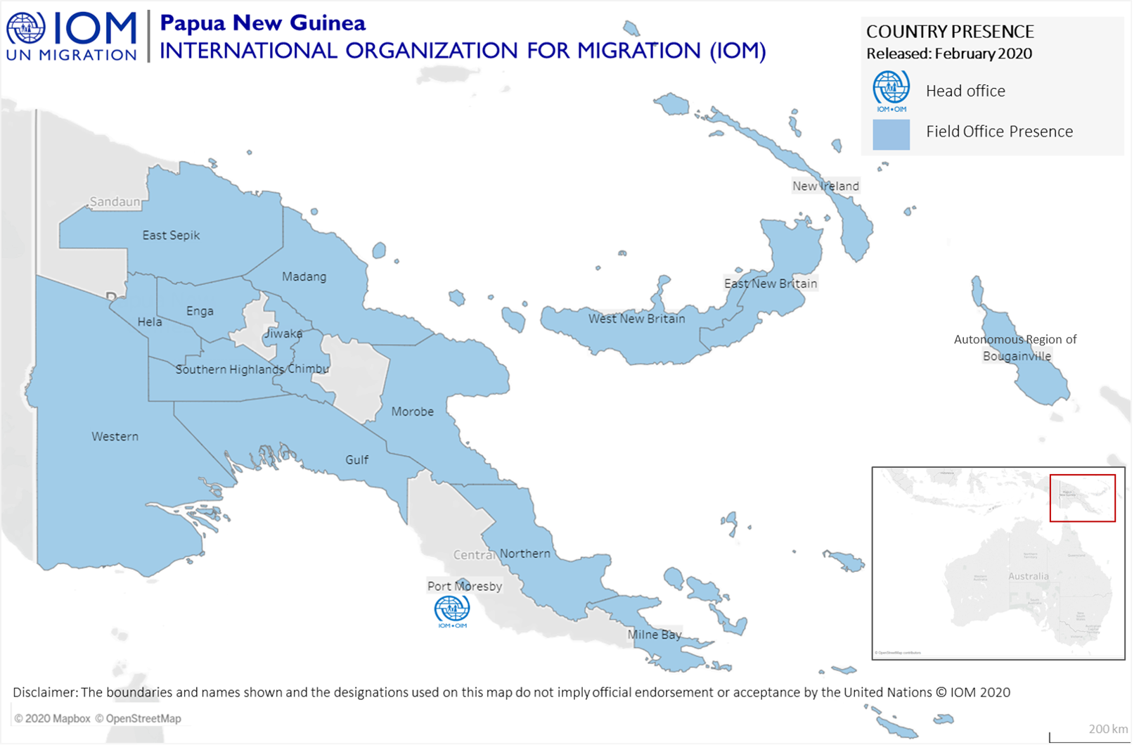 PNG - Where We Work